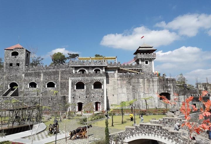 The Lost World Castle Gunung Merapi