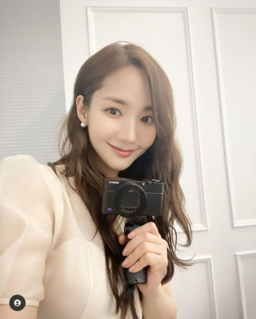 Park Min-young on Instagram