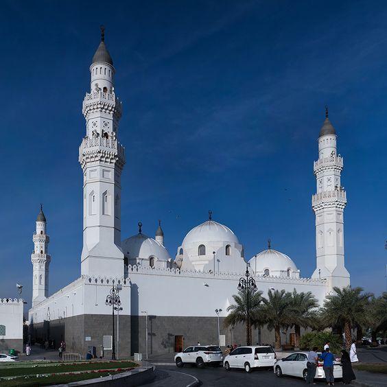 Masjid Quba photo by zaitoontravel on www.pinterest.com