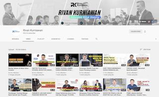 Kanal YouTube Rivan Kurniawan.