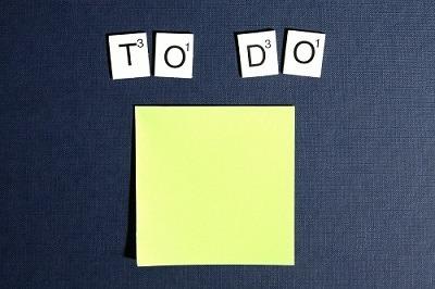 List to Do a Year ahead
