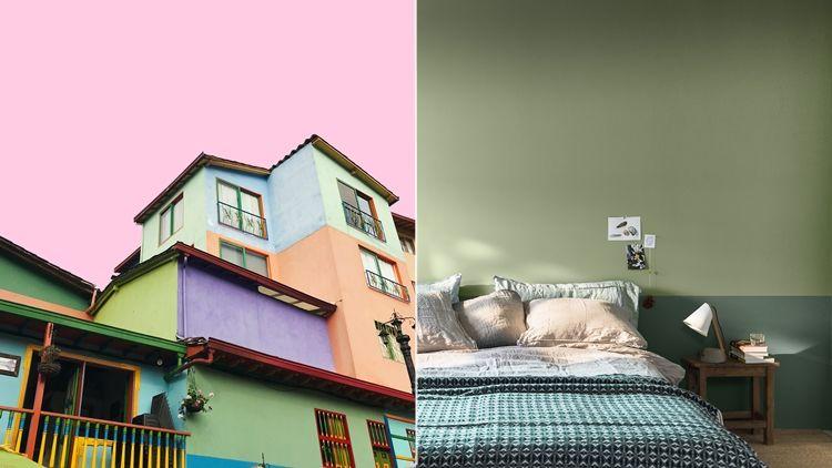 6 Kombinasi Warna Cat Rumah yang Orang Jarang Kepikiran ...