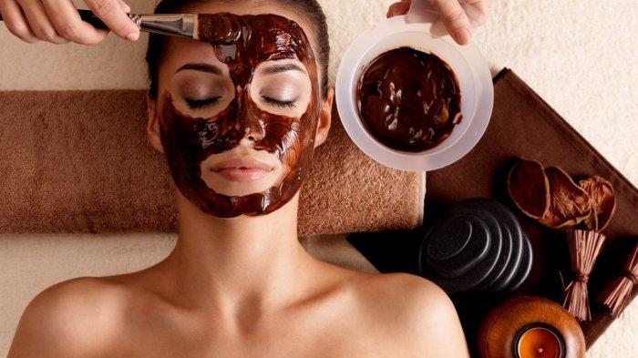 masker cokelat