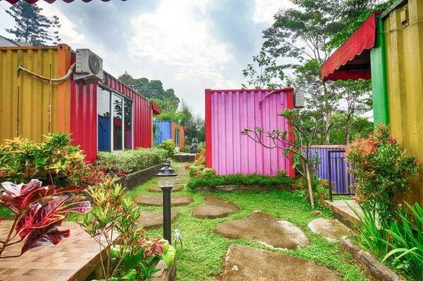 Literooms Container Megamendung Bogor