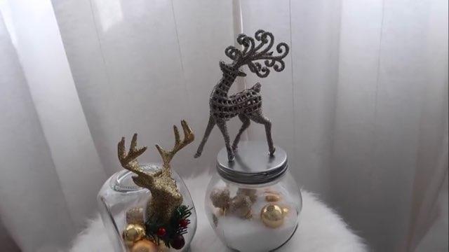 DIY jar dengan rusa