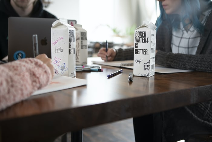 Workholic by Boxed Water is Better