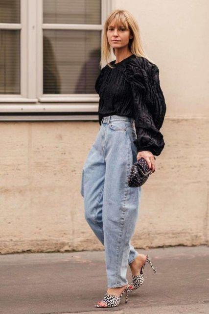 Celana longgar yang dapat dipadupadakan menjadi pakaian formal