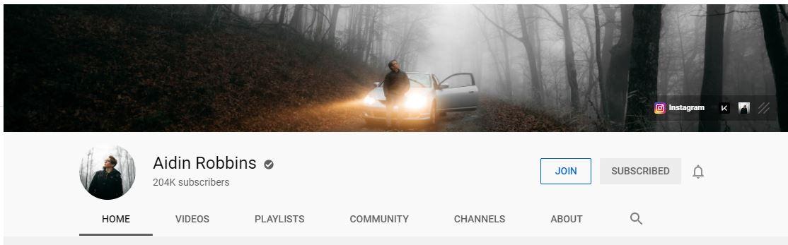 Youtube - Aidin Robbins