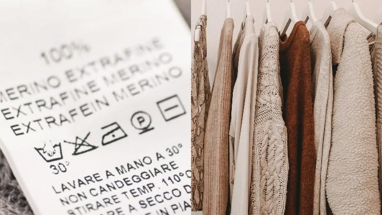 6 Simbol pada Label Baju ini Ada Artinya, Mulai dari Aturan Pencucian Hingga Cara Menyetrika