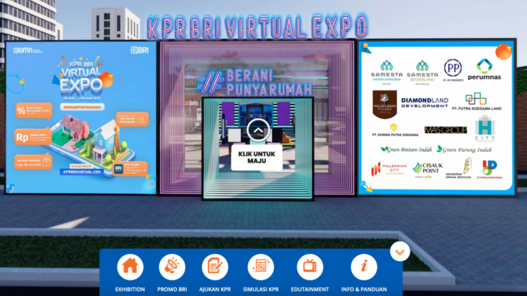 BRI Persembahkan 'KPR BRI Virtual Expo 2021' untuk ...