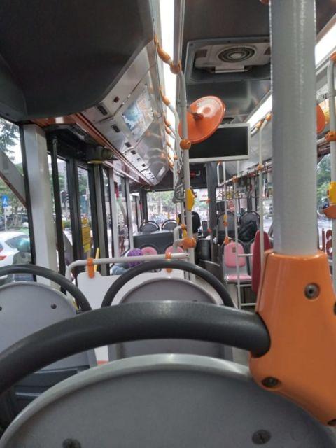 Grafik jumlah penumpang Bus Suroboyo