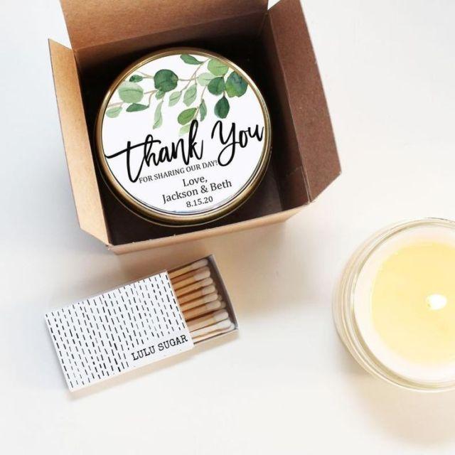 Souvenir lilin aroma terapi