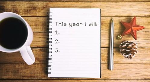 Create new year resolution