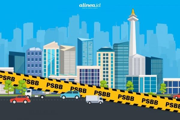 PSBB Ditiap Daerah Indonesia