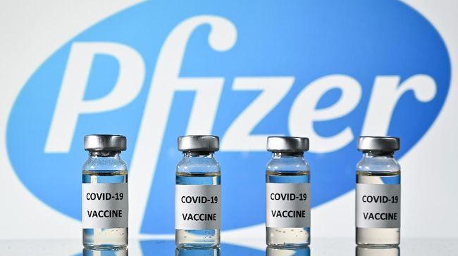Illustrasi vaksin Pfizer - BioNTech / Photo by Justin Tallis