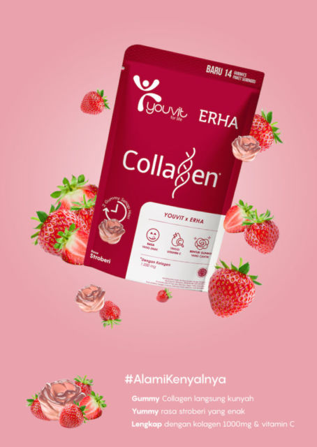 YOUVIT x ERHA Luncurkan Gummy Multivitamin dengan Kandungan Kolagen dan  Vitamin C untuk Dewasa