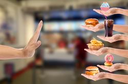 Menghindari junk food