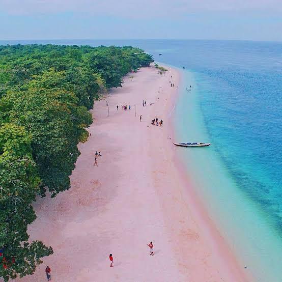 Zambanoanga's Pink Beach via Facebook