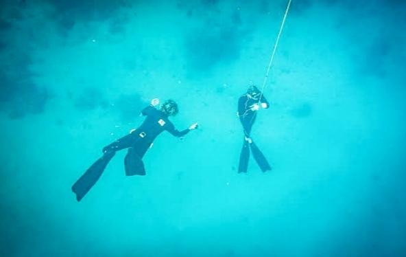 Freediving di El Nido