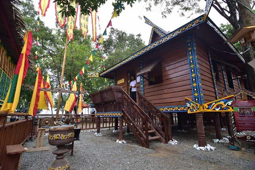 Kadayawan Trible village