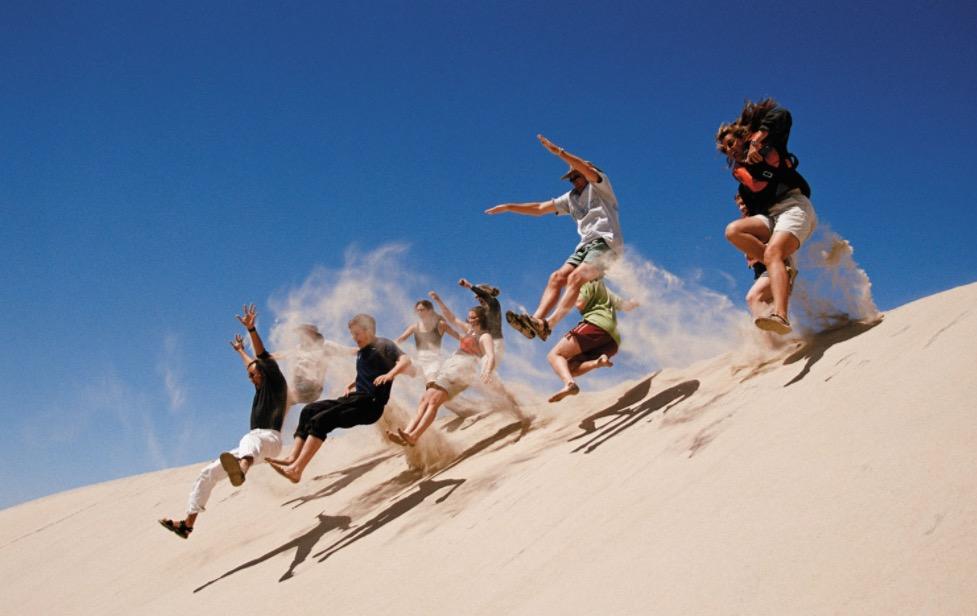 Paoay Sand Dunes Adventures,  Ilocos Norte, Luzon, Philippines by Heroes Adventure