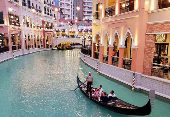 Venice Grand Canal Mall via Pinterest