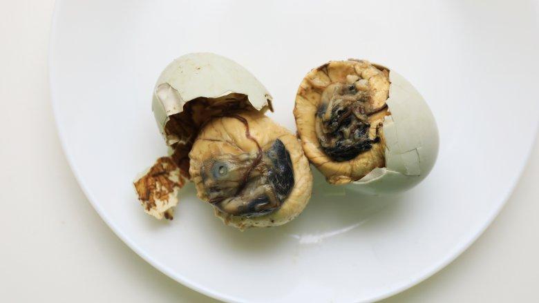 Balut Filipino Food