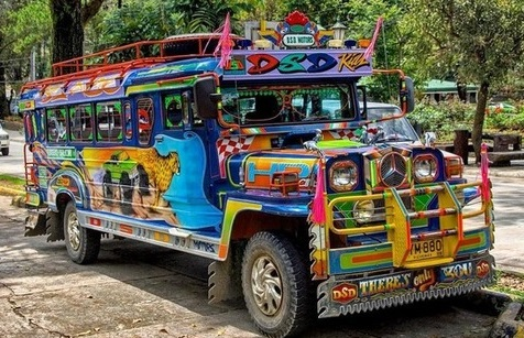 Jeepney via Pinterest