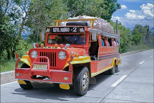 Credit: Jeepney Photo by pulaw on Flickr