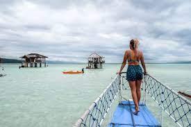 Wisatawan Manjuyod Sandbar