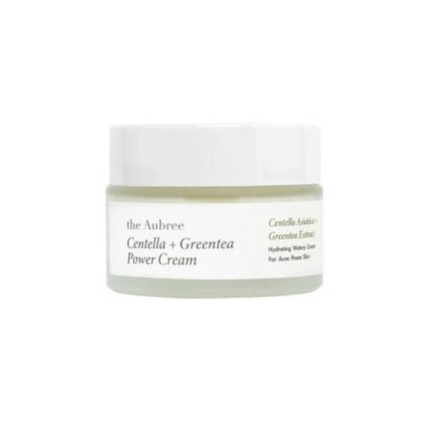 The Aubree Skin Centella + Greentea Power Cream