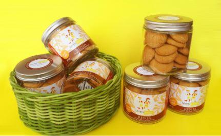 SEVEN HERBS RENJA- Aren Jahe Immunity Cookies 150 gr
