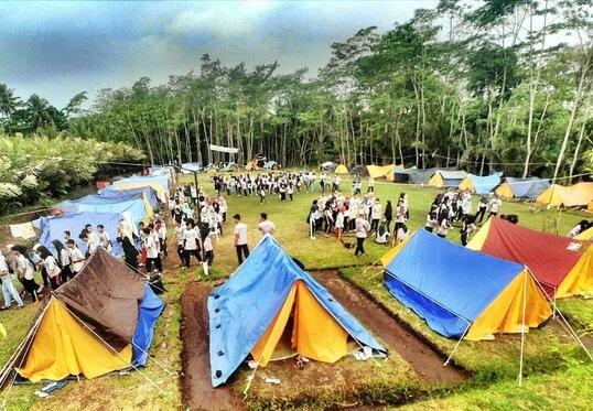 suasana camping ground