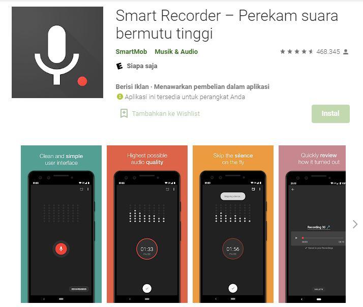 aplikasi perekam suara