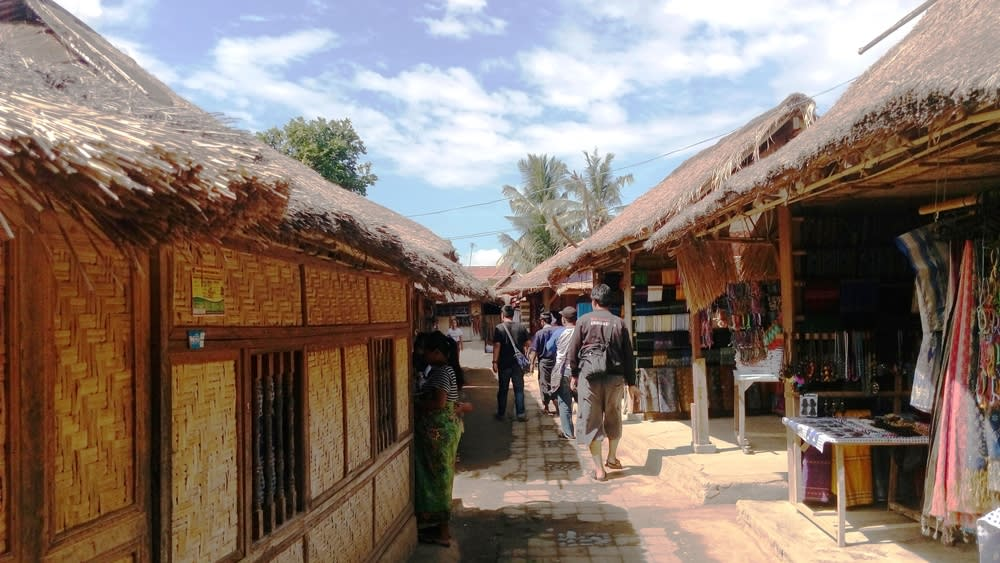 Rumah adat Desa Sade