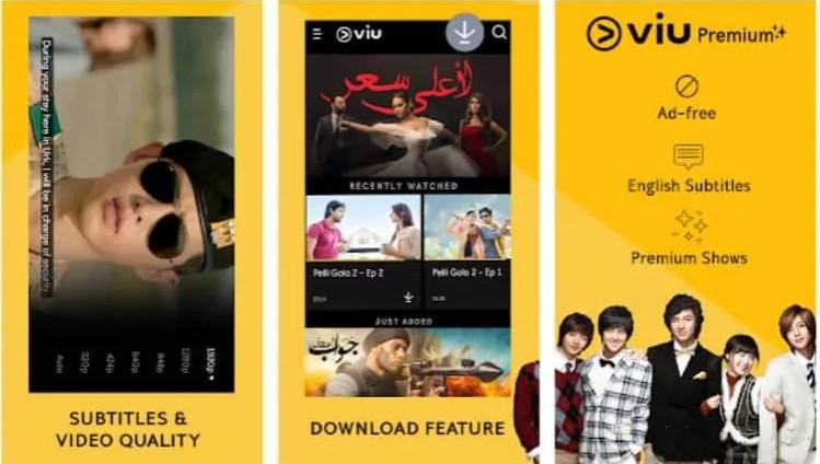 Tampilan Aplikasi Viu Premium | Credit : Listiorini