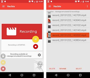 RecMe Screen Recorder Apk