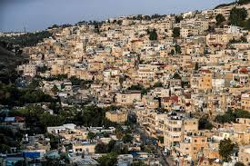 keadaan di kota Gaza
