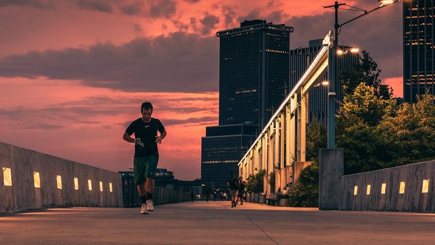 manfaat lari untuk otot