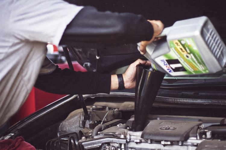 manfaat oli bekas untuk body motor