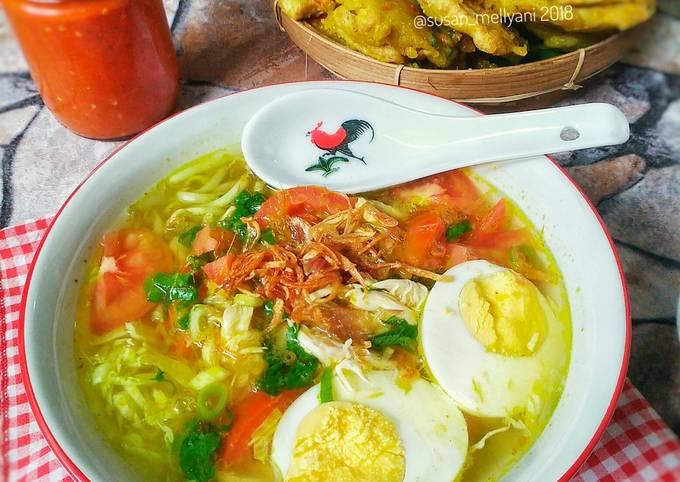 resep soto ayam jawa