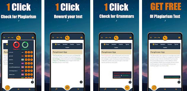 Google Play/ Paraphraser: Reword your text