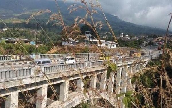 Jembatan Sigandul Temanggung Foto: (Eko Susanto/detikcom)