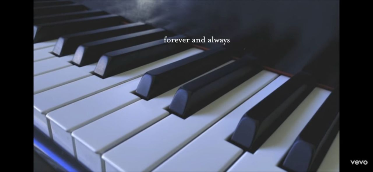 Forever & Always (piano version)