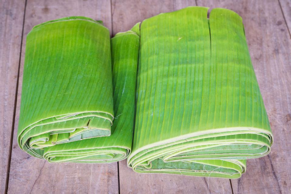 cara menyimpan daun pisang agar awet