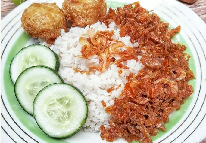 cara membuat nasi uduk betawi