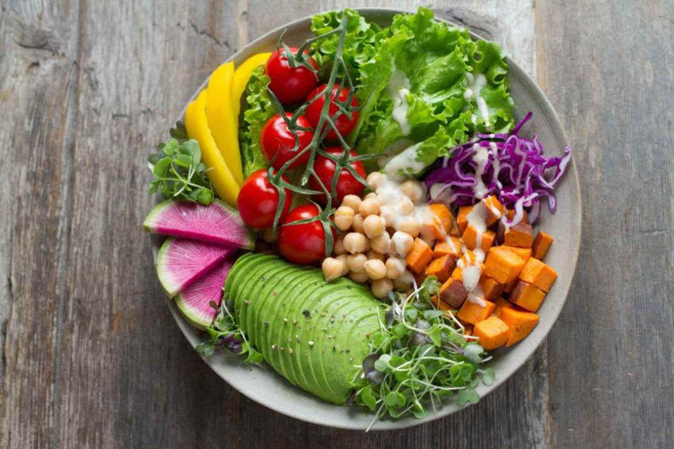 Menu diet seimbang