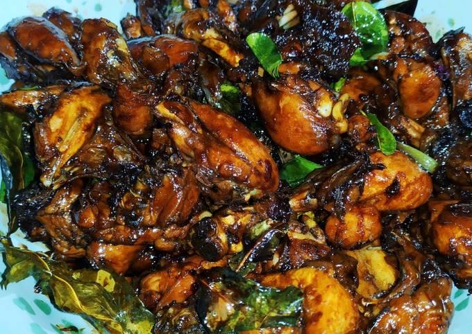 Resep ayam kecap pedas mantap