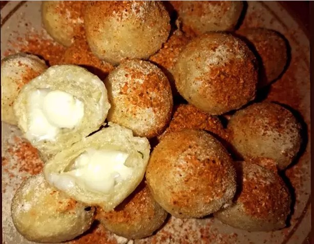 cara membuat cimol mozzarella