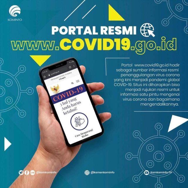 Portal Resmi COVID-19 di Indonesia
